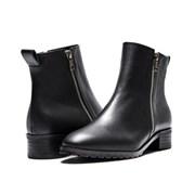 7121 Zipper ankle boots black