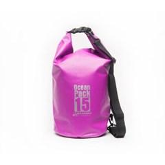 오션팩 15L 방수가방 - 핑크 PINK