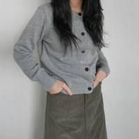 Adorable button point cardigan