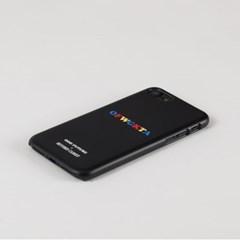 비욘드클로젯X오드퓨처 아이폰7/8 프레피 로고 블랙_(10803455)