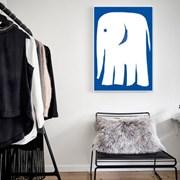 북유럽 액자 인테리어 아이방 포스터 코끼리