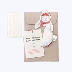 CHRISTMAS CARD_SNOWMAN_VER.2