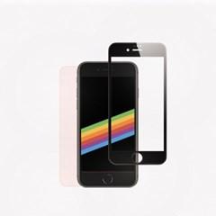 아이폰8 풀커버 강화유리 : 블랙