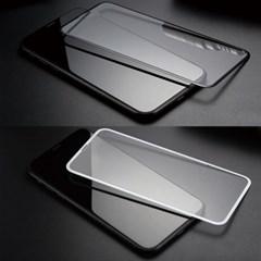 (1+1) [아이폰X/XS/XS Max/XR] 카본 3D 곡면 풀커버 강화유리