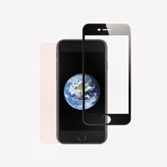 아이폰8플러스 풀커버 강화유리 : 블랙