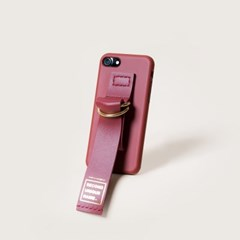 SUN CASE LEATHER BURGUNDY