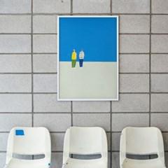 핀즐 01. 타쿠 반나이 (A1아트포스터+매거진)
