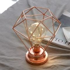 스파클링 LED 무드등 [로즈골드] (건전지타입/취침등)_(1480915)
