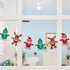 산타의 크리스마스 가랜드