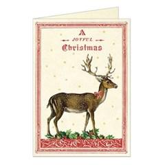 카발리니 카드세트 Christmas Deer (10장)