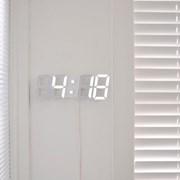 [스크래치] LED Clock 무아스 LED 클락 3종 / 탁상시계 & 벽시계