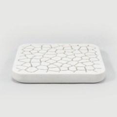 Voronoi coaster (white) [보로노이 코스터]
