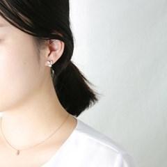 쉘 페타 귀걸이