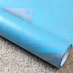 비닐 롤 포장지 - 신문