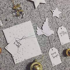 PP MESSAGE GIFTTAG - CHRISTMAS 3종