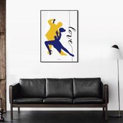 유니크 인테리어 디자인 포스터 M 댄싱LOVE