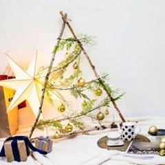 크리스마스 리얼 벽트리 만들기