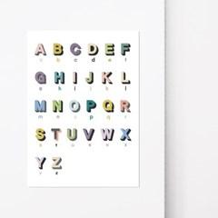 학습포스터 Ver.알파벳