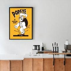 유니크 인테리어 디자인 포스터 M 세일러맨 뽀빠이