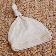 [쏘잉앤맘] DIY 오가닉 도트 양면 꼭지 모자 만들기 신생아 모자