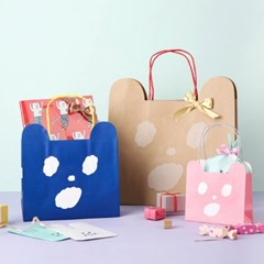 [AIUEO] KUMA Paper bag L size (2 options)