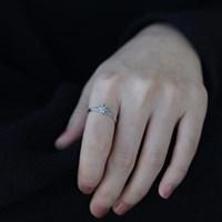 플라워마카 Ring (silver925)