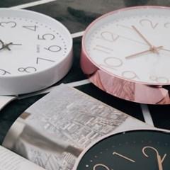 10시 10분 벽시계(4color)