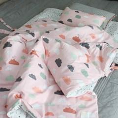 구름비 핑크 낮잠이불 세트