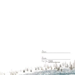 숲의시간 일러스트 엽서