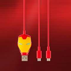 마블 아이언맨 5핀 타입C 케이블