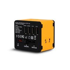 아이넷 JY-192(YB) 해외여행용 멀티아답터(3500mA/USB 4포트)