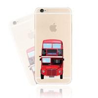 런던 버스 (CHE-006) 투명 하드 케이스