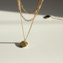 8 - three chain necklace