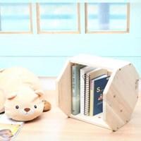 [057] 벌집 책꽂이 만들기 DIY