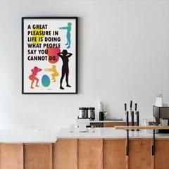 유니크 인테리어 디자인 포스터 M 피트니스2 헬쓰