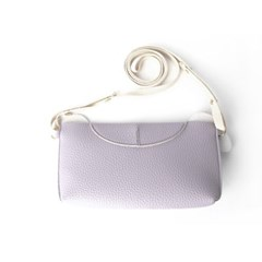 Ji Won Bulldog Mini Bag Lilac