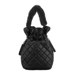 ALICE LEATHER POUCH_BLACK