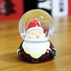 크리스마스 워터볼 스노우볼 4.5cm (눈사람얼굴)
