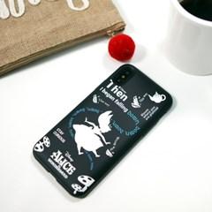 디즈니 앨리스 타이포 슬림 더블 카드 케이스 디즈니 정품