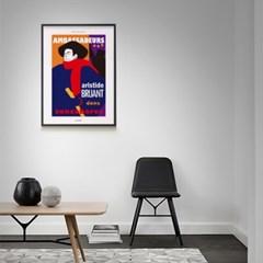 인테리어 디자인 포스터 M 툴루즈 로트렉 앰버서더