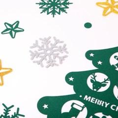 크리스마스 월데코장식-벽트리(그린)