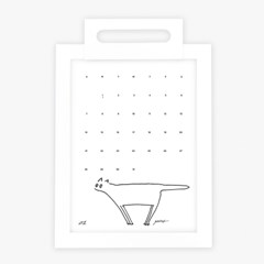 [Gratus] 2018 냥력 Large (Hoo-ri Calendar) 2018년 달력