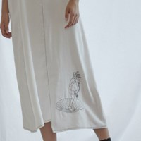 Venus Stitch Dress_White