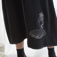 Venus Stitch Dress_Black