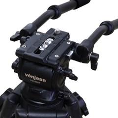 본젠 VT-938D 방송용 비디오 삼각대 + KV-157N 유니버셜 돌리 SET