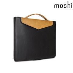 모쉬 노트북 13형 코덱스 가죽 숄더백_오닉스블랙