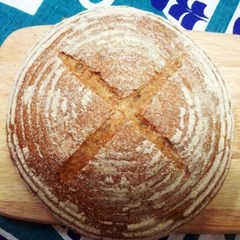 [더브레드] 유기농 통밀호밀빵 뺑드깜빠뉴 410g(샌드위치빵)