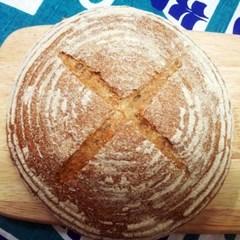 [더브레드] 유기농 통밀호밀빵 뺑드깜빠뉴 410g_2개(샌드위치빵)