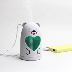 [아이리버] 귀여워! 무드등 AIR ZOO 가습기 (USB/터치)