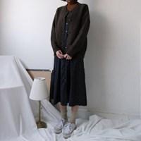 [LAMBSWOOL70] 라운드 램스울 윈터 가디건 (3-COLORS)